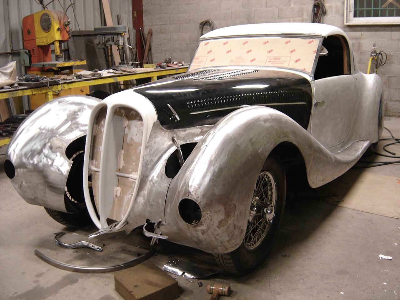 Delahaye 135 coupé